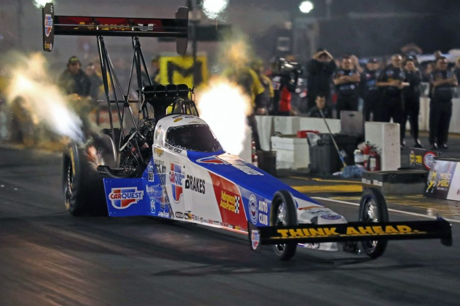 BRITTANY FORCE AND CARQUEST BRAKES EAGER TO LEAD TOP FUEL