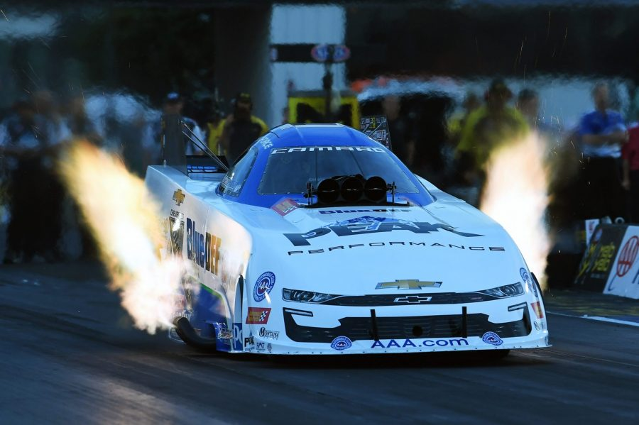 Aaa Insurance Ma >> John Force And Peak Bluedef Take No 1 Spot Saturday At The